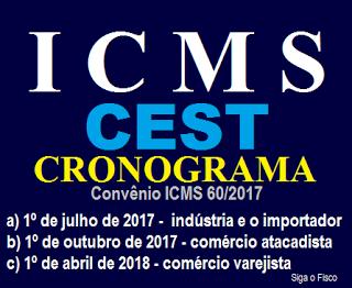 CEST será exigido do Varejo somente a partir de abril de 2018 6