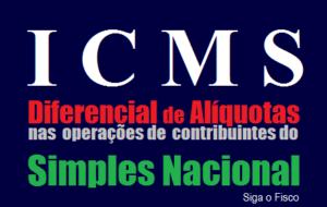 ICMS-SP - Simples Nacional e o Diferencial de Alíquotas sobre aquisição de mercadoria isenta do imposto 9