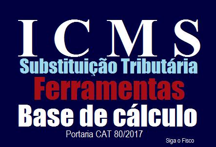 ICMS-ST – SP adia para outubro de 2017 alteração da base de cálculo sobre as saídas de ferramentas 2