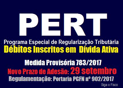 PERT – Procuradoria regulamenta prorrogação do prazo de adesão ao programa 11