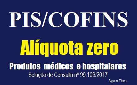 PIS e COFINS e a alíquota zero sobre a receita de produtos médicos e hospitalares 2