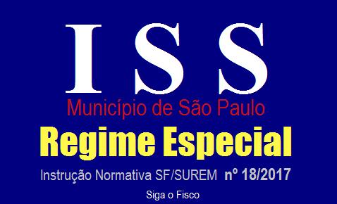 ISS – São Paulo institui procedimentos para solicitar Regime Especial 3
