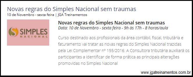 Simples Nacional – Novas Regras para 2018 2