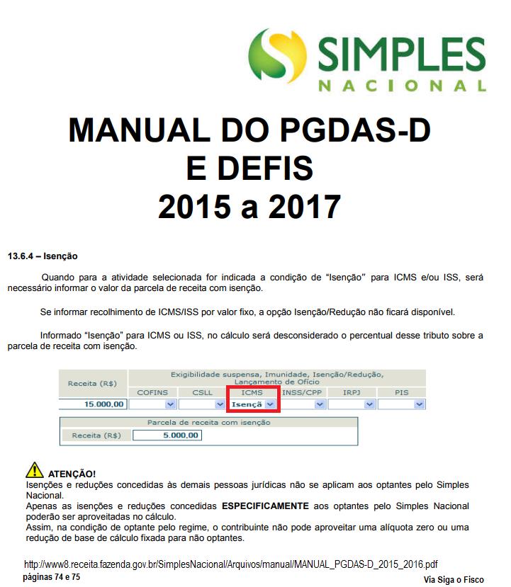 Simples Nacional e a Isenção do ICMS em São Paulo 5