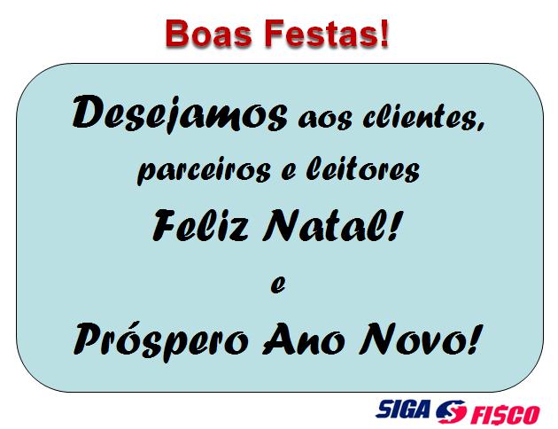 Boas Festas! 2