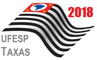 Governo paulista divulga UFESP e taxas para 2018 3