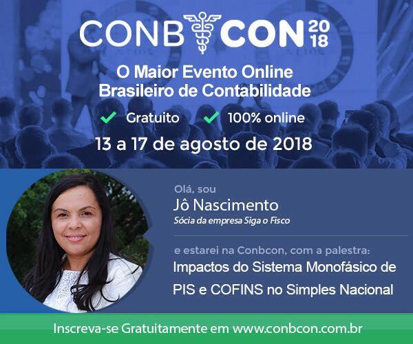 ConbCon 2018 - Evento contábil gratuito 2