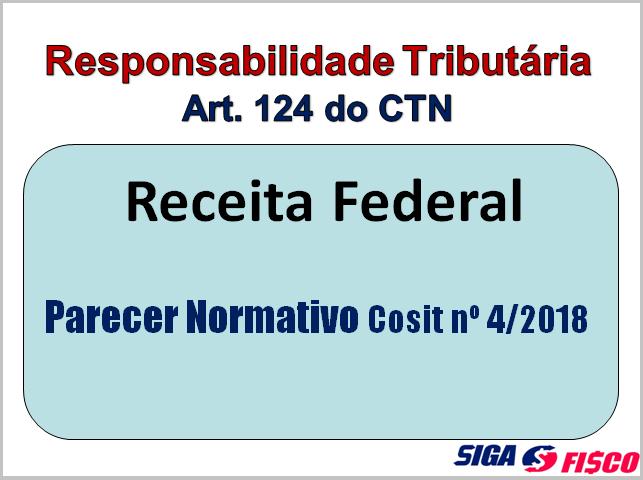 Responsabilidade Tributária Solidária: Receita Federal uniformiza interpretação 2
