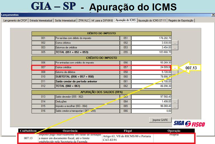 SP: Como recuperar valor de ICMS destacado a maior em nota fiscal 3