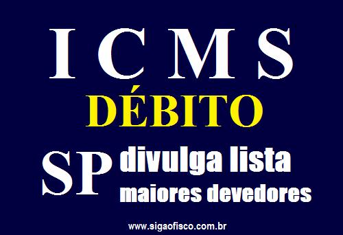 ICMS – SP divulga lista de maiores devedores 1