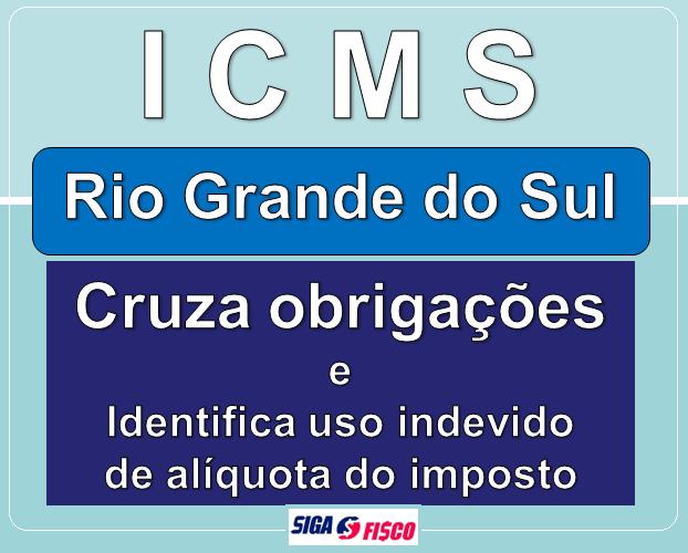 ICMS: RS detecta uso indevido de alíquota do ICMS 1