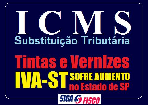 SP aumenta em mais de 122% o ICMS-ST sobre tintas e vernizes 1