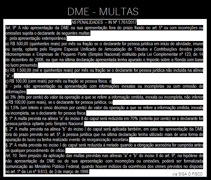 DIRPF x DME – Cruzamento da Receita começa dar resultado 5