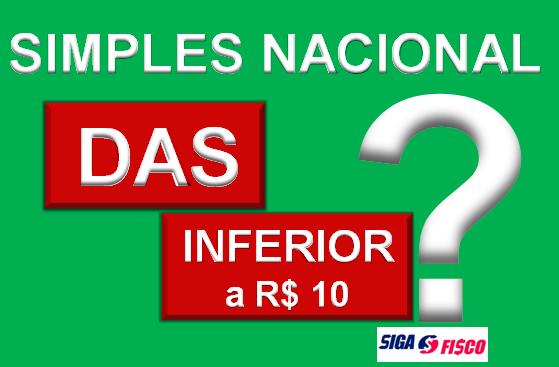 Simples Nacional com DAS inferior a 10 reais? Veja o que fazer 1