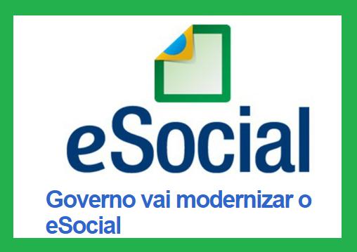 Governo vai modernizar o eSocial 1