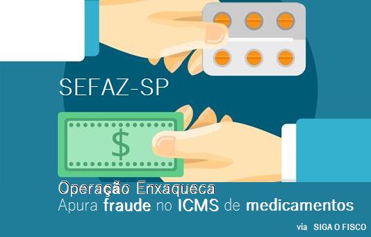 SEFAZ-SP deflagra operação Enxaqueca para apurar fraude no ICMS de medicamentos 1
