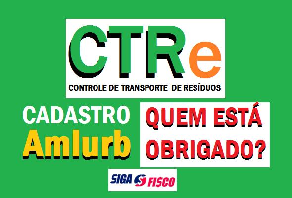 CTR-E: Cadastro das empresas na AMLURB vence dia 09 3