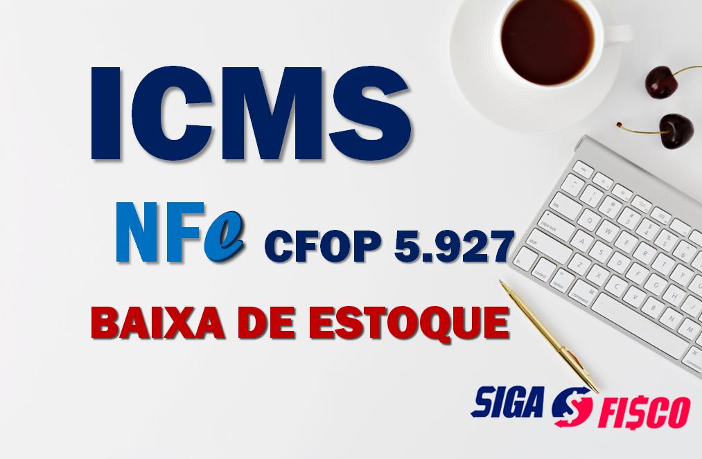 ICMS: Procedimentos para baixa de estoque em razão de perda ou consumo no estabelecimento 1