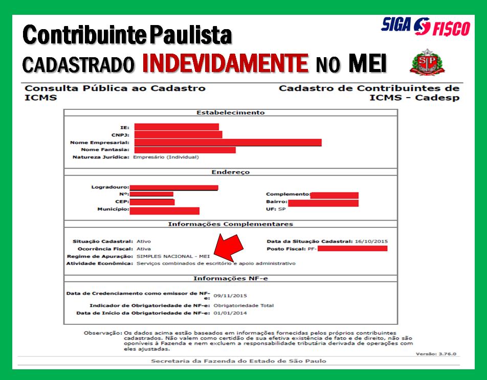 MEI: Excesso de Receita Provoca Fiscalização no Estado de SP 2