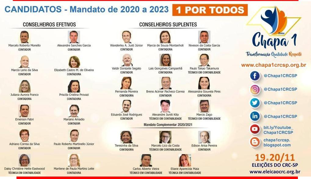 CRCs: Eleições 2019, votação dias 19 e 20 de novembro 2