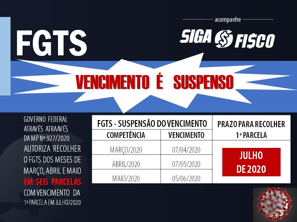 FGTS: Governo suspende vencimento e valor poderá ser parcelado em 6 vezes 1