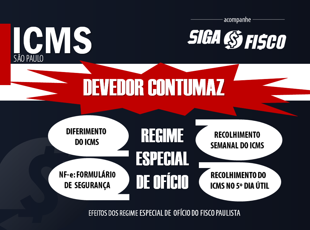 ICMS: Fisco paulista aperta o cerco contra Devedor Contumaz 1