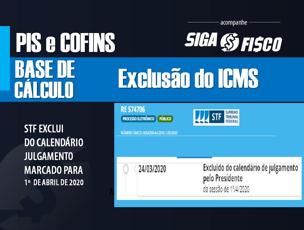 PIS/COFINS: STF retira da pauta julgamento sobre exclusão do ICMS 1