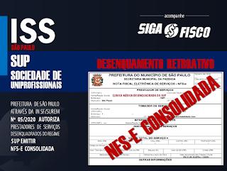 SUP: Prestadores de serviços desenquadrados poderão emitir NFS-e consolidada 3