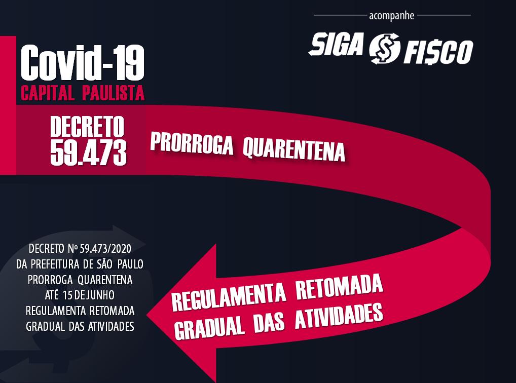 Covid-19: Prefeitura de São Paulo regulamenta Plano de retomada gradual das atividades 1
