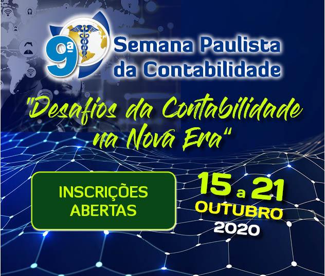 9ª Semana Paulista da Contabilidade acontecerá de 15 a 21 de outubro 1