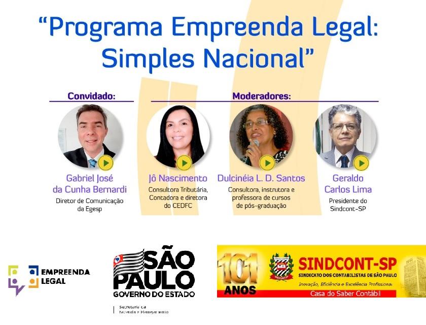 Programa Empreenda Legal: Simples Nacional 1