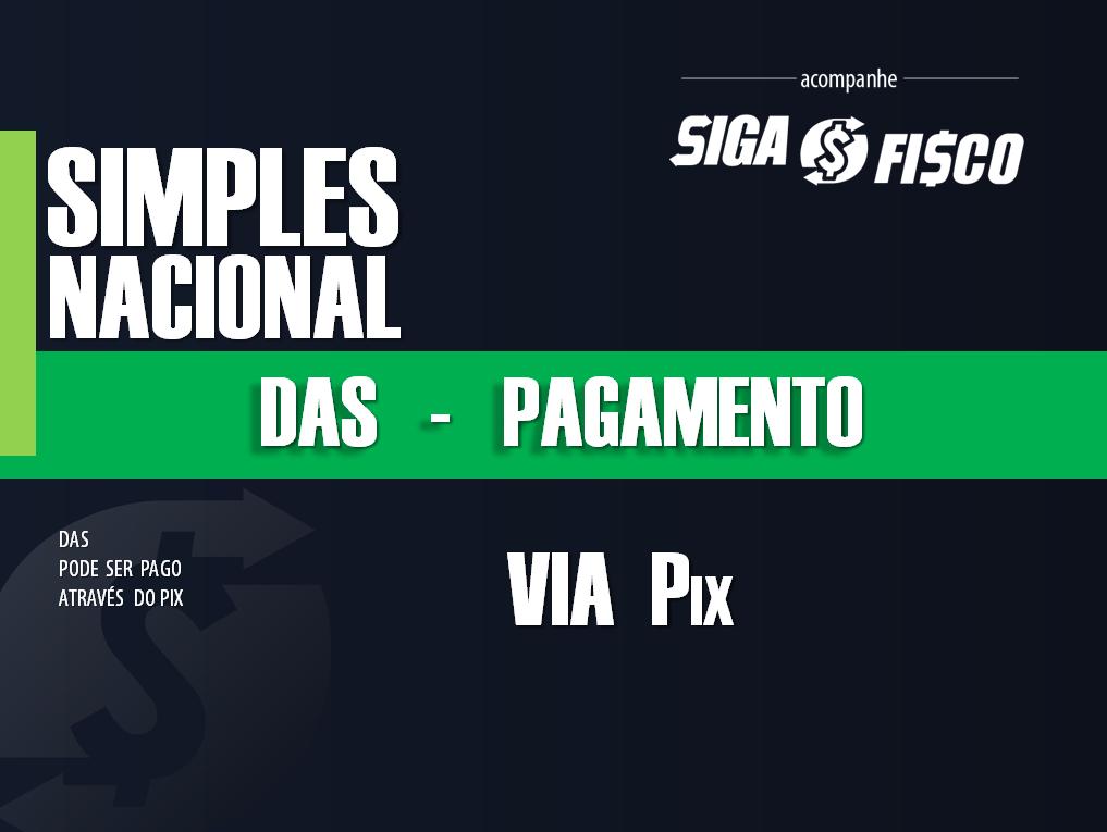 Simples Nacional: DAS pode ser pago via Pix 1