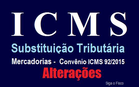 ICMS-ST – Confaz altera lista de mercadorias sujeitas a Substituição Tributária 2