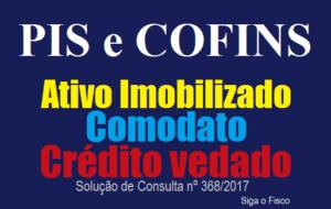 PIS e COFINS e o crédito sobre Ativo Imobilizado cedido em Comodato 2