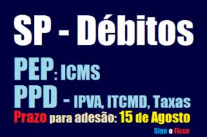 São Paulo: Termina hoje o prazo para adesão aos programas de parcelamento do Governo 2