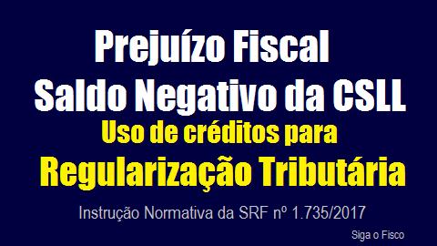 Receita edita regras para Regularização Tributária com uso de Prejuízo Fiscal e Base Negativa da CSLL 2