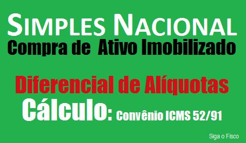 Simples Nacional: Cálculo do Diferencial de Alíquotas sobre aquisição de máquina industrial 3