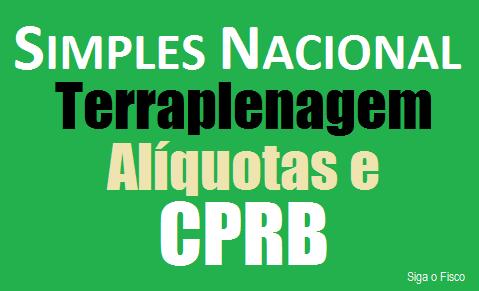 Simples Nacional e a tributação da Contribuição Previdenciária da atividade de Terraplenagem 2