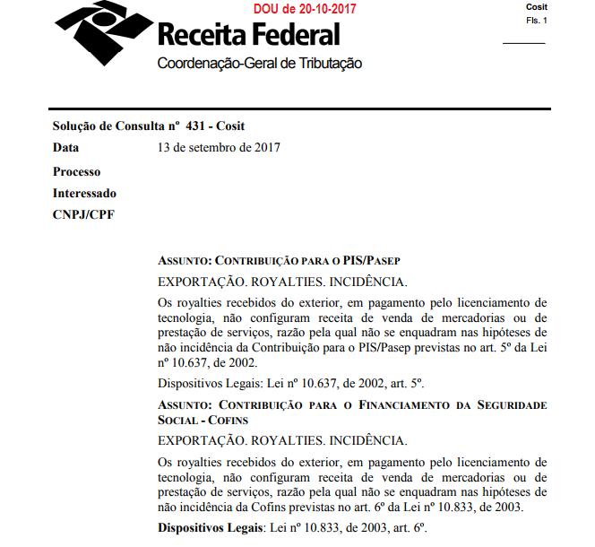 Receita Federal publica número recorde de solução de consultas externas 8