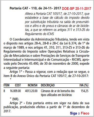 ICMS-ST sobre Câmaras de ar de bicicletas sofre aumento em São Paulo 4
