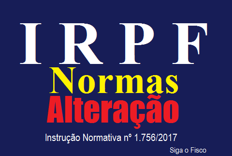IRPF: Receita Federal altera normas do Imposto 2
