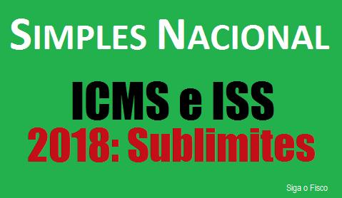 Simples Nacional: Comitê Gestor divulga sublimites para 2018 3
