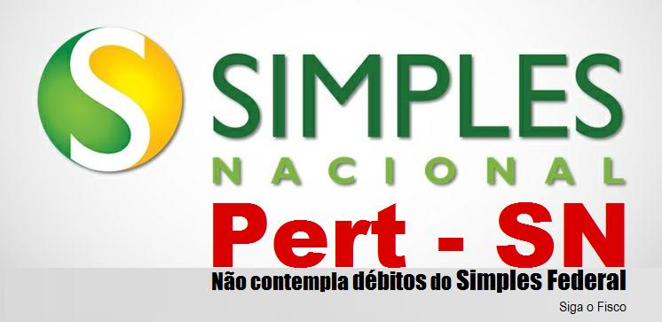 Pert-SN não contempla débitos do Simples Federal 2