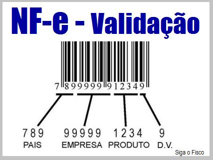 NF-e: Exigência do Código de Barras e validação do campo 3