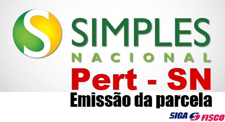 Pert-SN - Prazo para emissão da parcela com redução 3