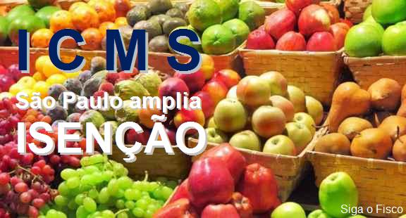 Governo paulista zera ICMS de frutas, verduras e hortaliças embalados 2