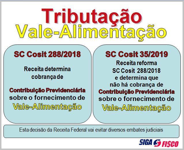 Receita desiste de cobrar contribuição previdenciária sobre o fornecimento de vale-alimentação 2