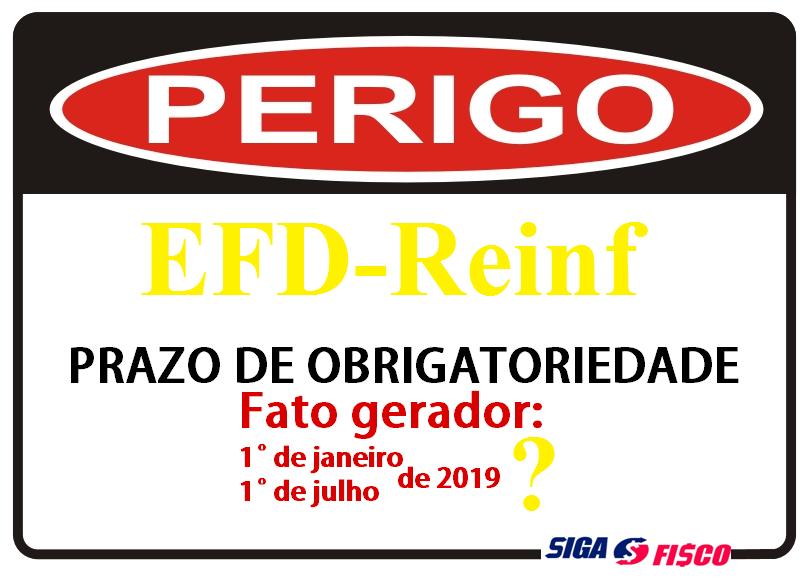 EFD-Reinf quando você deve começar entregar? 19