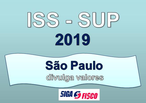 ISS - Sociedades de Profissionais Valores a pagar em 2019 6