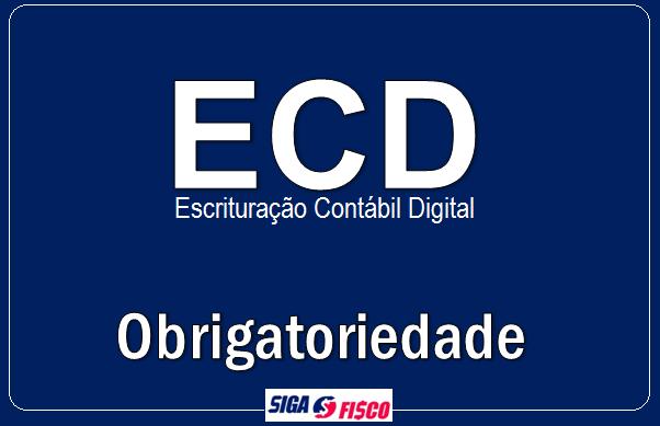 ECD – Receita Federal altera regras de exigência 1